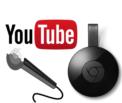How to setup Karaoke using YouTube and Google Chromecast