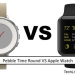 Pebble Time Round VS Apple Watch