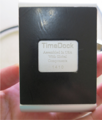 Pebble TimeDock Rubber Footing