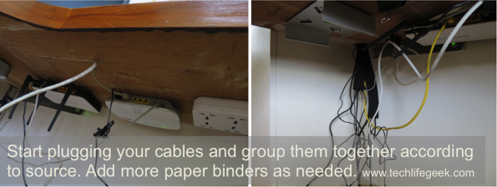 Plug and group cables