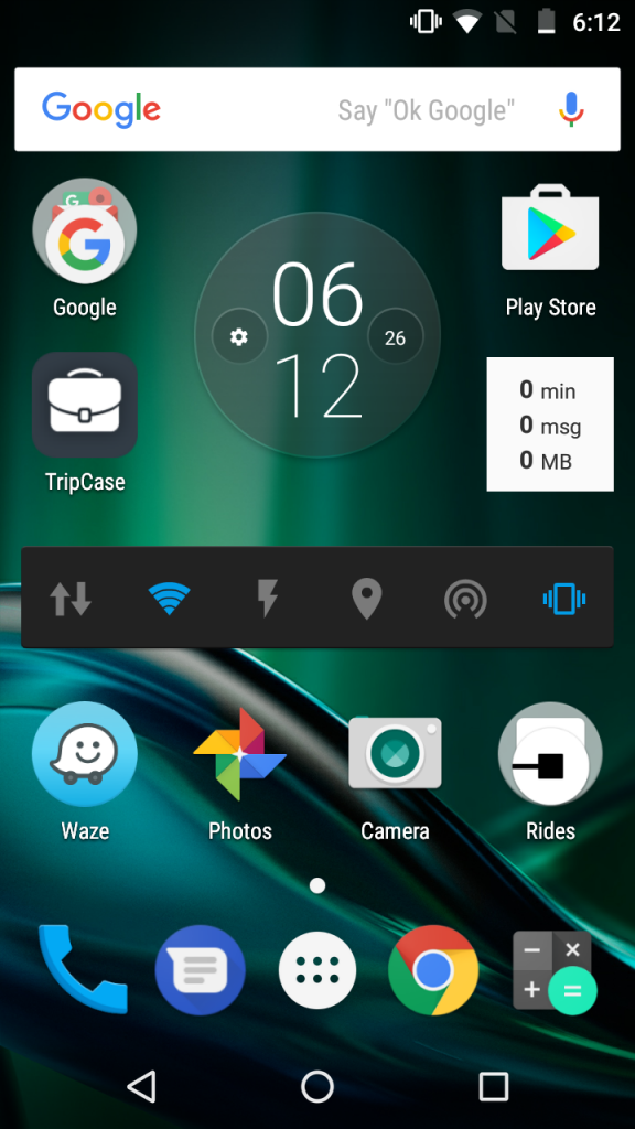 Motorola Screenshot