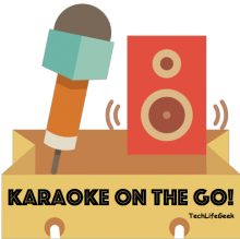 Karaoke on the Go: How to setup a Portable Karaoke machine