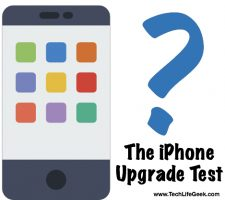 iPhone Upgrade Test